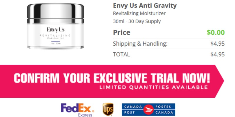 Envy us Moisturizer Cream Free Trial