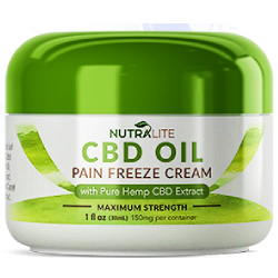 Nutralite CBD Oil Pain Freeze Cream Review